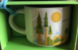 Rare Starbucks CA California You Are Here Collection Demi Mi