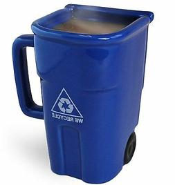 Recycle Bin-shaped Coffee Mug 12-oz.  or Cool Pencil Cup for