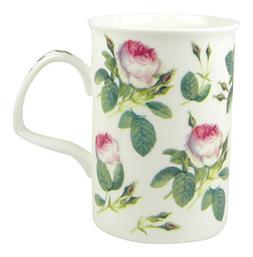Roy Kirkham Redoute Rose Chintz Fine English Bone China Mug
