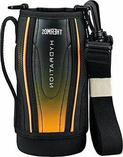 Thermos replacement parts sports bottle  pouch black gradati