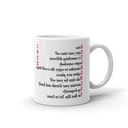 Retirement Poem For Men or Women 2020 Coffee Tea Ceramic Mug