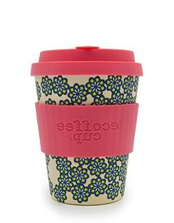 Ecoffee 12oz 340ml Reusable Cups with Silicone Lid Tops, Mad