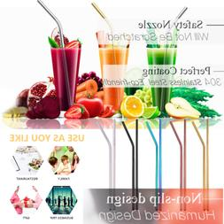 Reusable Drinking Straw Stainless Steel Metal Straw Home Par