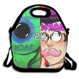 Willcallyou Reusable Lunch Bags-- Markiplier & Jacksepticeye