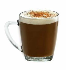 Anchor Hocking Rio Glass Coffee Mugs, 14 oz
