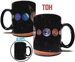 The Rising Sun Solar System Planets 11oz Color Changing Heat