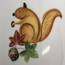RK Roy Kirkham Squirrel Leaves Mouse Blackberry Mug Cup Fine