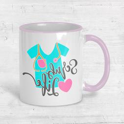 RN Scrub Life Coffee Cup Nurse Gift Graduation Mug Ceramic P