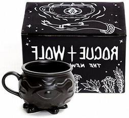 Rogue + Wolf Witch Cauldron Coffee Mug In Gift Box Porcelain