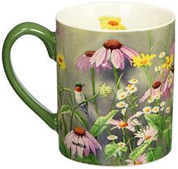 Lang Ruby In Wildflowers Mug by Susan Bourdet, 14 oz., Multi