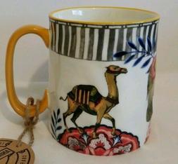 10 Strawberry Street Sahara Print Mug Cup Animal Lovers Elep