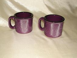 Santa Fe Campfire Coffee Mug Plum 15 OZ. New M Ware. 4 mugs