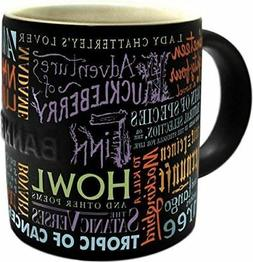 Banned Book Mug - English Gift Coffee Cup - The Unemployed P