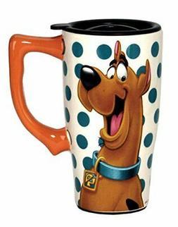 Spoontiques Scooby Doo Travel Mug, Multicolor