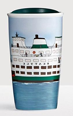 SEATTLE Traveler 12oz Local Collection Double Wall Ceramic 2