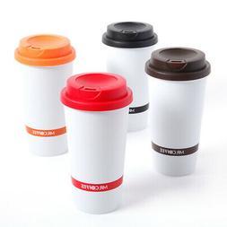 Mr. Coffee Coffee Sensations 4 Pack 16oz Travel Mugs w/ Lids