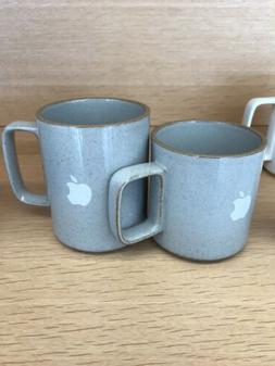Set 2 Logo Apple  macintosh Computer Hasami Porcelain Mug Ja