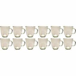 Set Cocktail Drinkware Of 12 Epure Coffee Mugs Beautiful Gla