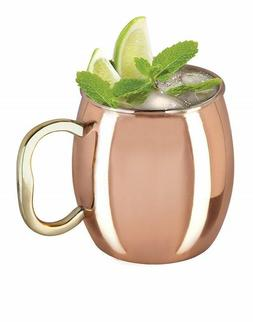 Set of 2 Klikel Moscow Mule Mug With Solid Copper Finish 20o