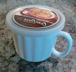 Set of 2 Good Cook Oven Fresh Ceramic 18 Oz Cream Color Soup