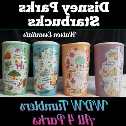 2020 Disney Park Exclusive WDW Starbucks Ceramic Tumblers M