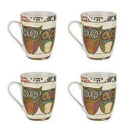 Pimpernel Set of 4 Mugs, Spice Road Tea Coffee Drinks Tradit