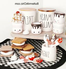 Set Of Hard Plastic Marshmallow Mugs & More