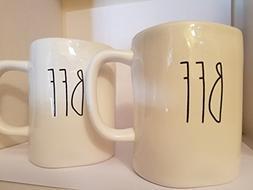 Rae Dunn set of two mugs - BFF