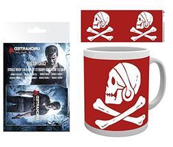 Set: Uncharted, 4, Red Skull Photo Coffee Mug  And 1 Unchart
