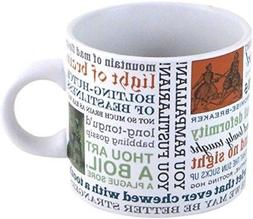 shakespeare insults quotes mug teacher gift coffee