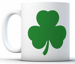 Shamrock Mugs Novelty Humor Funny Glass Coffee Mug Tea Cup G