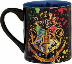 Silver Buffalo HP113932Z Harry Potter Hogwarts Crest Splatte