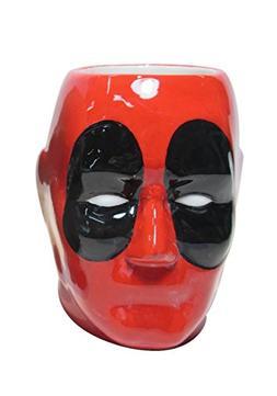 Silver Buffalo MU7495 Marvel Deadpool 3D Sculpted Ceramic Mu