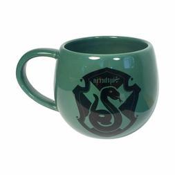 Harry Potter Slytherin Crest with Coaster Set Stoneware Mug
