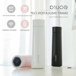Smart EQURA Coffee Cup Thermos Travel Mug LED Temperature Di