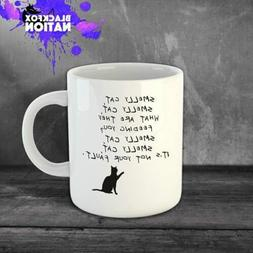 Smelly Cat  Funny Fun Coffee Ceramic Mugs Office Home Kitche