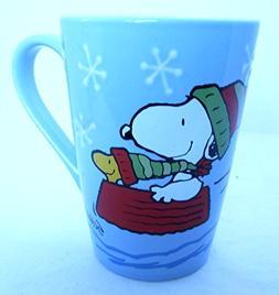 Hallmark Snoopy Winter Sledding Mug Snoopy Christmas Mug