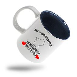 Style In Print Somebody In Wisconsin Loves Me Coffee Tea Cer