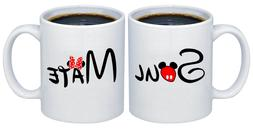 Soul - Mate Valentines Day Gifts for Couples Coffee Mugs MCP