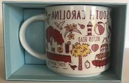 Starbucks South Carolina Mug Been There Series