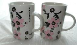 Starbucks Spring Mug Ceramic 12oz Cherry Blossom Floral Cup