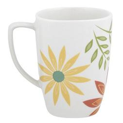 Corelle Square 12-Ounce Porcelain Mug, Happy Days