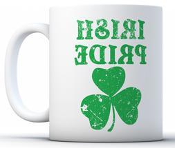 St Patrick's Day Mugs Irish Pride Novelty Coffee Mug Gifts T