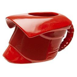 Zak Designs STAC-8511 Ceramic Coffee Mug, 12 oz, Red
