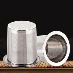 Stainless Steel Filter Loose Leaf Tea Herb Infuser Basket St
