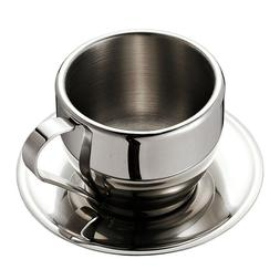 Stainless Steel <font><b>Coffee</b></font> Cups <font><b>Set