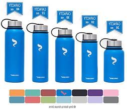 Simple Drink Stainless Steel Insulated Water Bottle - Wide M
