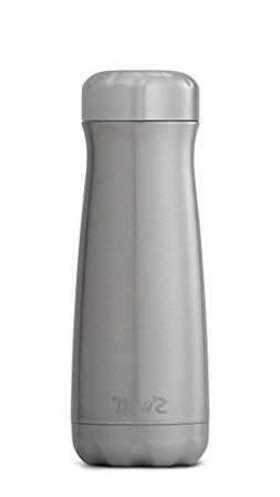 S'well Stainless Steel Travel Mug, 20 oz, Silver Lining