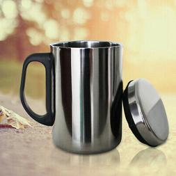 Stainless Steel Mug Cup Double Wall Portable Travel Tumbler