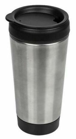 stainless steel travel mug with push lid